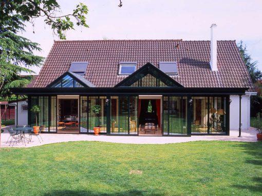 Une Villa Véranda à double puits de lumière