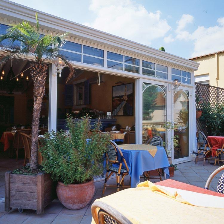 Une véranda sur le toit d'un restaurant | Les Vérandas du Golf